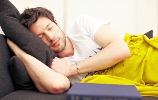 Deep Exhausted Sleep